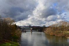 Kassel von der Hafenbrücke