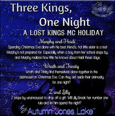 THREE KINGS, ONE NIGHT (LOST KINGS MC #2.5) http://amzn.to/1APpvmb