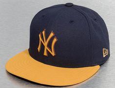 Custom New York Yankees Buck Tone-Blue 59Fifty Fitted Baseball Cap by NEW ERA x MLB