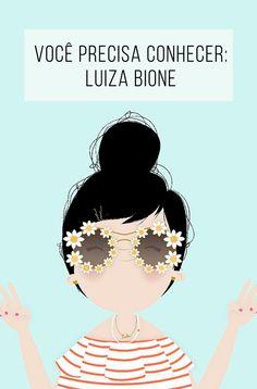 Você precisa conhecer: Luiza Bione & Lubi! Ilustrações lindas e uma personagem super fofa :-) // palavras-chave: inspiração, decoração, ilustração, design, designer, desenho, imlubi, menina, boneca, mulher, casa, parede, instagram, blog.