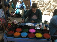 I loved the markets in Peru - so full of color and life!