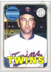 Bucky Brandon Minnesota Twins / Homemade