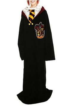Harry potter snuggie.  I know someone who would squeal over this...