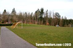 Expansive sports field in the Forest Heights area in Portland, Oregon. Walking Paths, Portland Oregon, The Neighbourhood, How To Plan, Sports, Hs Sports, The Neighborhood, Sport