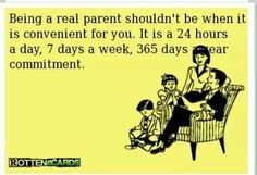 Parenting isn't all about show!!!!