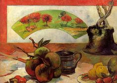 Paul Gauguin Painting - Still-life With Fruits And Fan. Oil On Canvas -about 50 X 61 Cm Cat. W by Eugene Henri Paul Gauguin Paul Gauguin, Oil On Canvas, Canvas Art, Impressionist Artists, Painting Still Life, Oil Painting Reproductions, Art Moderne, Henri Matisse, Belle Photo