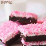 Sno Ball Brownies. My mom would have loved these. Her favorite sweet to eat was sno ball cakes. This is for you mom