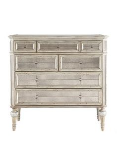"""Dresden"" Mirrored Chest - Neiman Marcus"