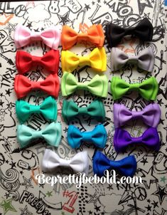 Dog bow tie Pet Bowtie cat Collar Bow ties Puppy by BePrettyBeBold