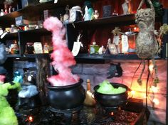 Potions Lab, looks like cotten candy, dosnt it?