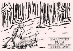 Cartel para Encuentro Ruta Scout