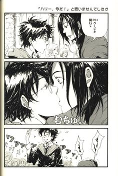 Doujinshi - Harry Potter Series / James Potter x Severus Snape (NEVER ENDROLL!) / EGJ