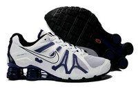 promo code a6c4d eefeb chaussures nike shox turbo+gris homme (blanc noir rouge) pas cher en ligne.