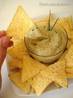 Cocinándotelo: DIP DE AGUACATE Y ATÚN
