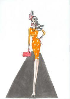 Ilustraciones Las Miarma, creaciones pa' las más flamencas