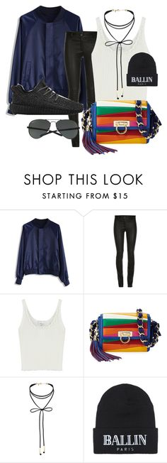 """Winter IV"" by beatricechan on Polyvore featuring Chicwish, ElleSD, 3.1 Phillip Lim, Salvatore Ferragamo, adidas, Miss Selfridge, Brian Lichtenberg and Ray-Ban"