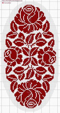 Cross Stitch Fruit, Cross Stitch Rose, Cross Stitch Flowers, Cross Stitch Embroidery, Crochet Patterns Filet, Tapestry Crochet Patterns, Granny Square Crochet Pattern, Cross Stitch Pattern Maker, Cross Stitch Patterns