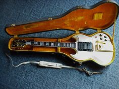 Vintage Mary Ford's / Les Paul's 1961 Gibson SG electric guitar #Gibson