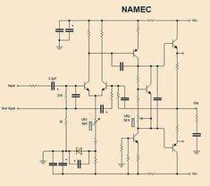 Vorverstärker - hifi-electronics.de | Schaltplan ...