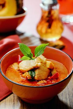 Thai Red Curry with Chicken and Pumpkin