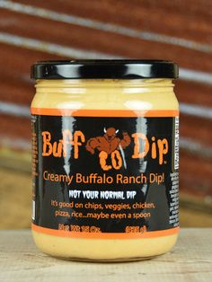 Buff Lo Dip- this is the best dip I've ever had, and Ohio local, I bought it from their little stand at a market on park Street :)