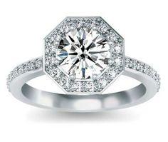 3 Diamond Engagement Rings Gold 16