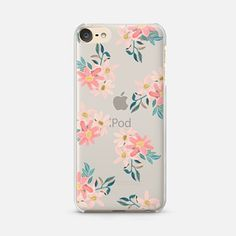 iPod Touch 6 Case Pink Daisies