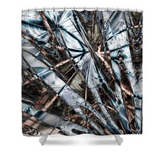 Of Earth And Ice Shower Curtain