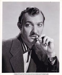 ZACHARY SCOTT Cigarette ORIGINAL Vintage 1950s Studio Film Noir Portrait Photo | Entertainment Memorabilia, Movie Memorabilia, Photographs | eBay!