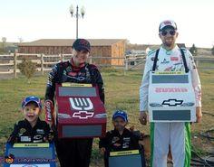 NASCAR Team Hendrick Family Costume - 2014 Halloween Costume Contest