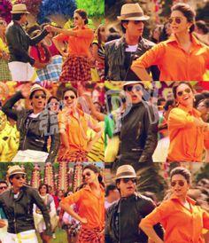 Shah Rukh Khan and Deepika Padukone - Chennai Express (2013)