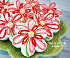 Flower Cookies // Jill FCS