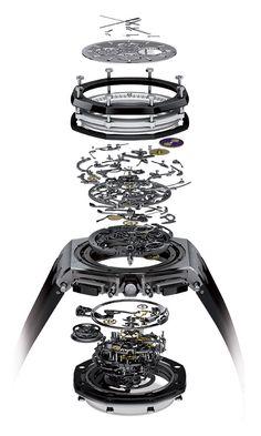Audemars Piguet the Royal Oak Offshore Grande Complication 44mm (PR/Pics http://watchmobile7.com/data/News/2013/03/130311-audemars_piguet-ROYAL_OAK_OFFSHORE_GRANDE_COMPLICATION_44MM.html) (3/4)