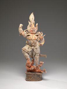 Chinese, Tang dynasty                 (618 – 907)            Heavenly Guardian (Lokapala)7th century