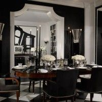 Oh my Ralph Lauren home dining room