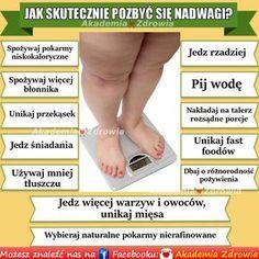 Jak skutecznie pozbyć się nadwagi - Zdrowe poradniki Just Do It, Food And Drink, Detox Waters, Workout, Healthy, Tips, Education, Chopsticks, Therapy