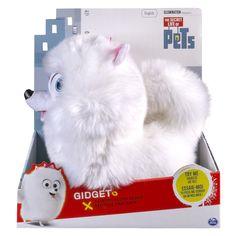 "The Secret Life of Pets - Gidget 12"" Talking Plush Buddy"