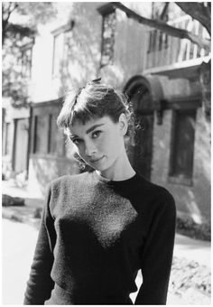 Portrait of Audrey Hepburn Los Angeles 1953 // by Mark Shaw