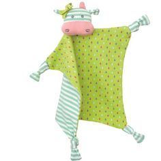 Apple Park Organic Farm Buddies - Belle Cow Blankie, Blanket Baby Toy for Newborns, Infants, Toddlers - Hypoallergenic, Organic Cotton Newborn Toys, Newborn Gifts, Baby Toys, Baby Lovies, Personalised Gifts Diy, Eco Baby, Eco Friendly Toys, Natural Baby, How To Dye Fabric