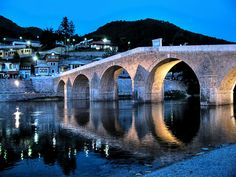 Stone bridge, Konjic. The city is one of the oldest permanent settlements in Bosnia, dating back almost 4000 years; the city in its current incarnation arising as an important town in the late 14th century.