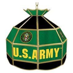 Trademark ARMY1600-SYM U.S. Army Symbol 60 Inch Pool Table Light - ARMY1600-SYM
