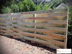 basket weave privacy fence