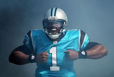 """2011-12 NFL Rookie Of The Year! Got me doing the superman thing when I work out. """"Killa"""" Cam Newton"""