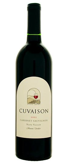 Cuvaison 2007 Mount Veeder Cabernet Sauvingnon... and other TOP 5 amazing red wines for fall 2012