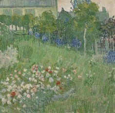 Van Gogh, Daubigny's Garden, June 1890. Oil on canvas, 51 x 51.2 cm. Van Gogh Museum, Amsterdam.