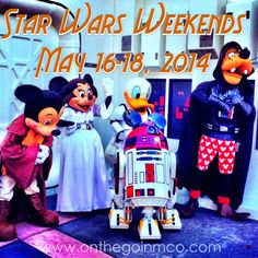 Star Wars Weekends 2014 Updates & Information: May 16 - 18, 2014  Here is all the info you need for the the first weekend of Star Wars Weekends 2014 - Disney's Hollywood Studios  - Walt Disney World