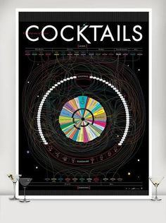 Cocktail Poster Art
