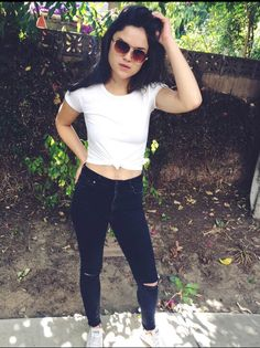 Wolf Girl, Teen Wolf, Hayden Romero, Victoria Moroles, Story Characters, Casual Outfits, Black Jeans, Actresses, T Shirts For Women