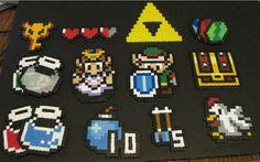 Zelda Perler Beads
