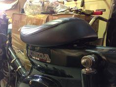THUNDER PRODUCTS: MX CUB project #5 Custom Seat for HONDA CUB C50, C70, C90